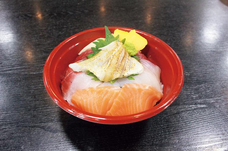 海鮮5種丼
