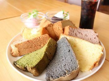 シフォンケーキ食べ放題! ベーカリ&カフェ「BAKE UP 1YAISM」へGO!