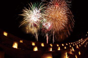 【湯沢町】町内のスキー場で開催される花火大会