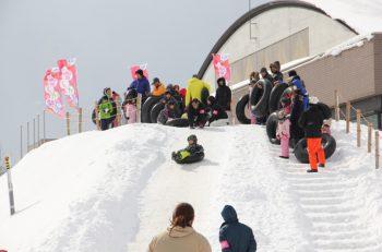 シンボルはスノーすべり台! 様々な雪遊びで長岡の冬を楽しもう|ハイブ長岡 千秋が原ふるさとの森