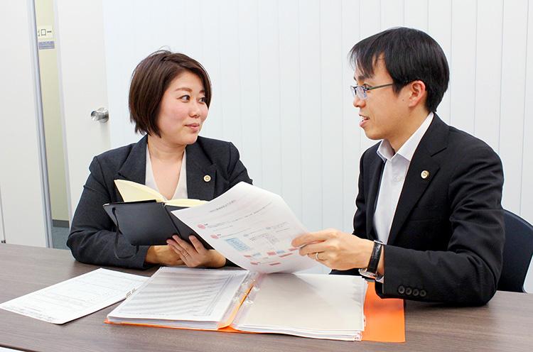 所内で離婚チームを組織して勉強会や事例の検討を行うことで、専門的な知識とスキルの向上を図っている