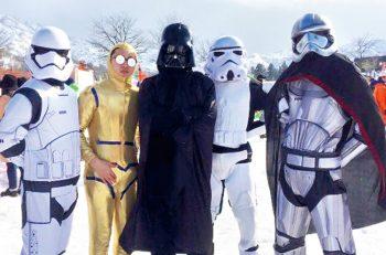 【魚沼市】観戦しているだけでも楽しい雪合戦大会