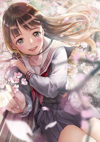茉崎ミユキ『flowing flower』 (C)産経新聞社/茉崎ミユキ