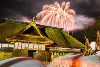 【魚沼市】雪灯篭の灯りがつくる幻想的な雪景色!