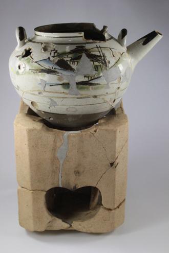 三根山藩のお茶道具