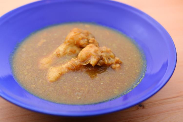 特製カレースープは数量限定