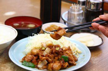 大吉の定番・鶏丁定食の「鶏丁」って読める?