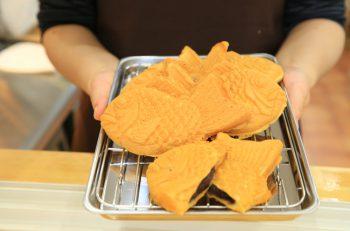 学生たちに早くも人気! 新潟市学校町に鯛焼き屋さんがオープン