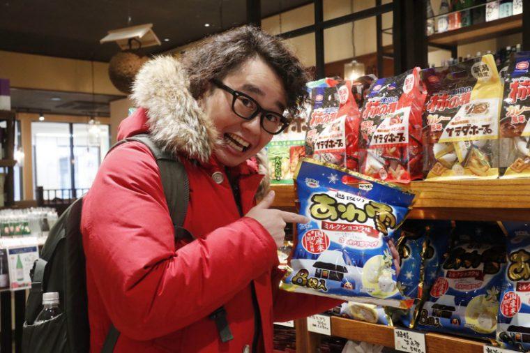 「『あわ雪』は本当によく手みやげとして東京に持っていきます」と関田さん