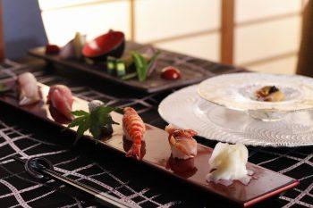 寿司、フレンチ、ステーキが楽しめる梨庵がランチコースをスタート|新潟市中央区古町9