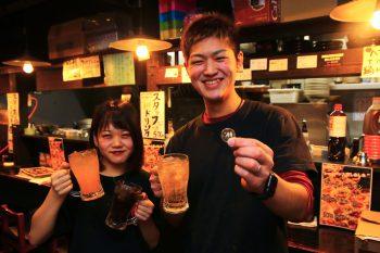 1杯でも元が取れる!? 古町8「麺処拾弐」の30分500円飲み放題!