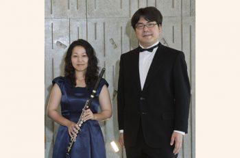 イクネスしばたで、フルート・オカリナとチェンバロによるコンサートを開催