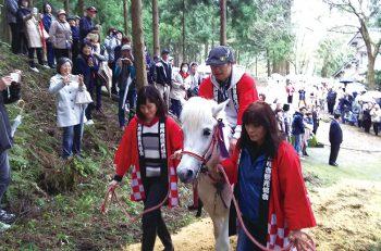 【胎内市】復活祭事「シャングシャング馬」