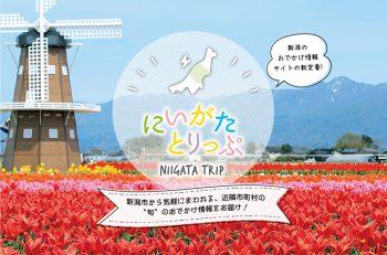 2019年2月オープン! 新潟の旬のおでかけ情報ポータルサイト「にいがたとりっぷ」