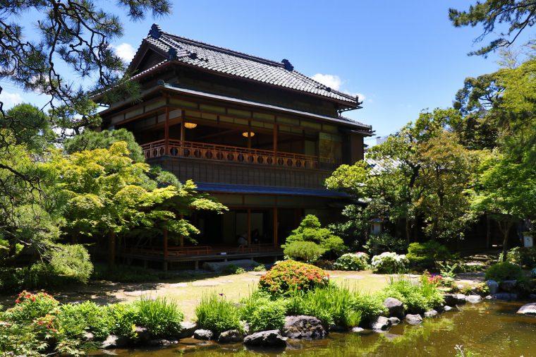 景観も美しい旧齋藤家別邸