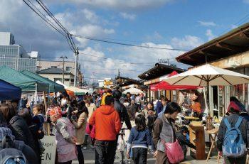 毎月第1日曜恒例の沼垂テラス商店街「朝市」が5年目に突入|新潟市中央区沼垂