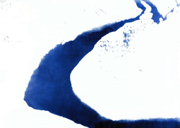 『信濃川・卯の木 A』1984年/P150