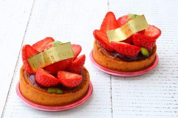 甘酸っぱいイチゴの華やかなタルト|新潟駅南・けやき通