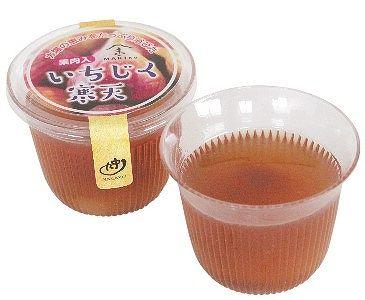中九食品の『いちじく寒天』