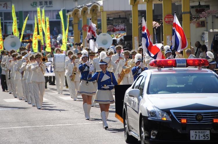 市中パレードは4月13(土) 午後3時頃からの予定