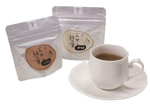弥右ェ門農園『柿の葉玄米コーヒー』