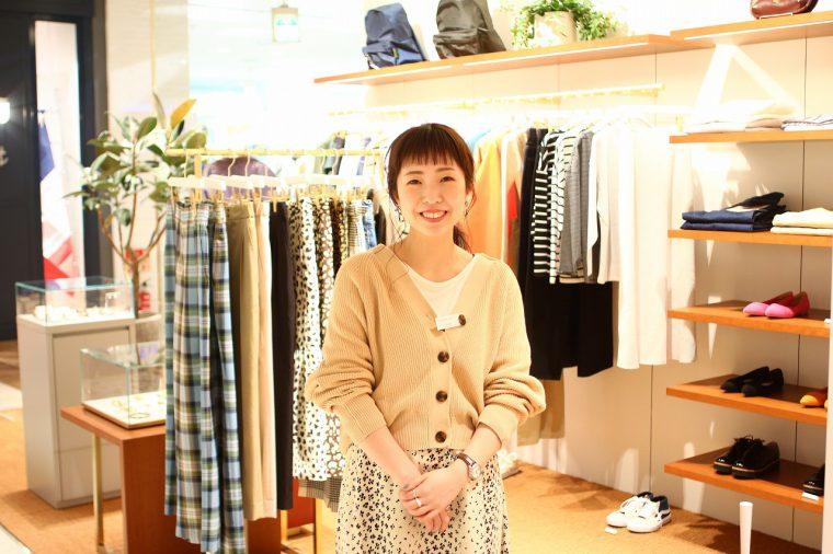 styling:スタッフ久代さん