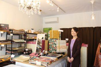 リユース着物の店・姫胡桃が東堀通から上古町商店街に移転しました
