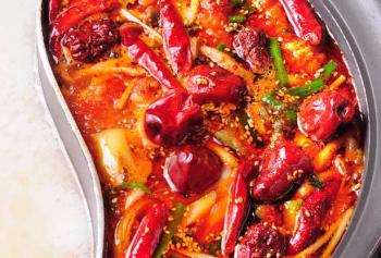 【クーポン有】「蒙古・朝天辣子火鍋」のスープを再現! 辛いもの好きにはたまらない『蒙古火鍋』が新登場!