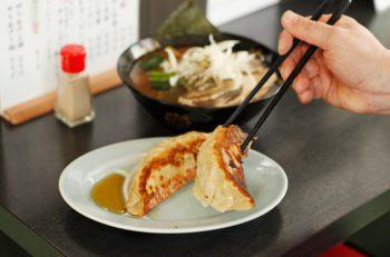 超濃厚にぼし中華がお気に入り!  でっかすぎる餃子もぜひ|阿賀野市