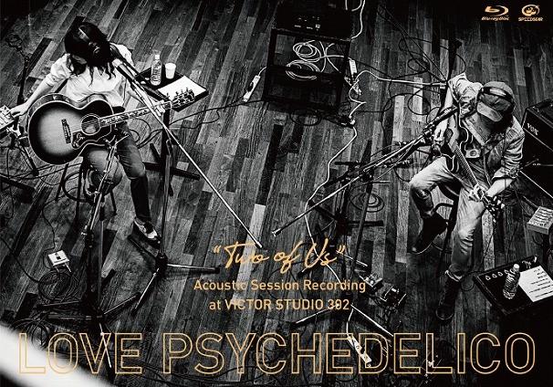 "『""TWO OF US"" Acoustic Session Recording at VICTOR STUDIO 302』 2,700円(Blu-Ray)/公式HPおよびライブ会場にて販売 ※配信アルバムも発売中"