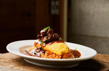 けやき通りの端っこにできたイタリアン食堂。オムライスも自慢です