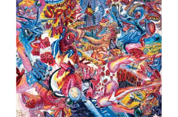 絵画や立体などさまざまな現代アートが一堂に!