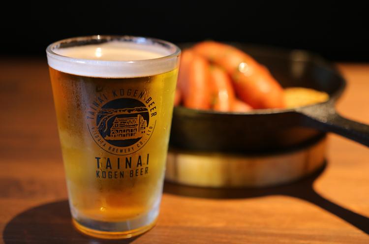 胎内高原ビール各種ハーフパイント500円