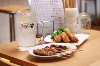 ヤキトンのおともはメガジョッキのお酒で|新潟市中央区