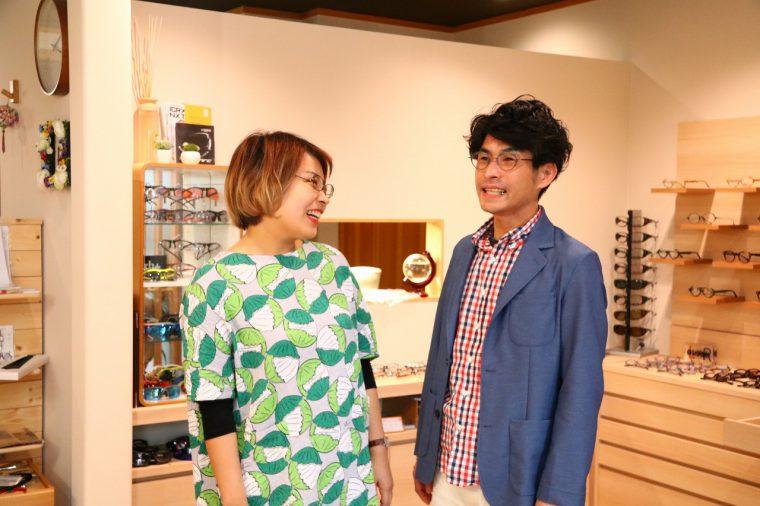 専門の知識を持ったスペシャリストなふたりが、笑顔で迎えてくれるお店です