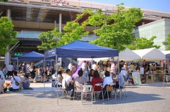 ワイン好き集まれ! 新潟駅南口広場でおいしいワインと料理を楽しもう