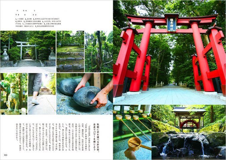 まずはそのエリアのパワースポットのご紹介から。弥彦エリアは彌彦神社を中心にご紹介しています