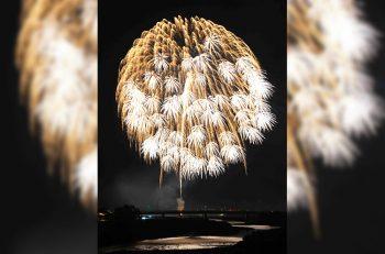 【五泉市】街に元気を与える手づくりの花火大会