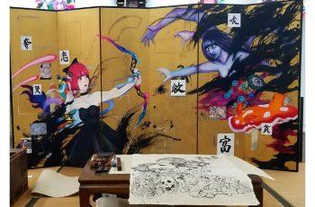 新進気鋭のアーティストによるコミックアート展