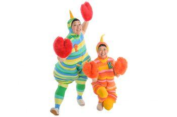 あのケロポンズが見附市に! 親子一緒に楽しく歌って踊ろう