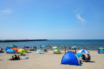 【聖籠町】網代浜海水浴場でマリンスポーツを楽しもう