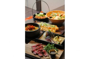 長岡駅前にできた居酒屋さん。営業は深夜3時まで! 300円台の料理がズラリ!!