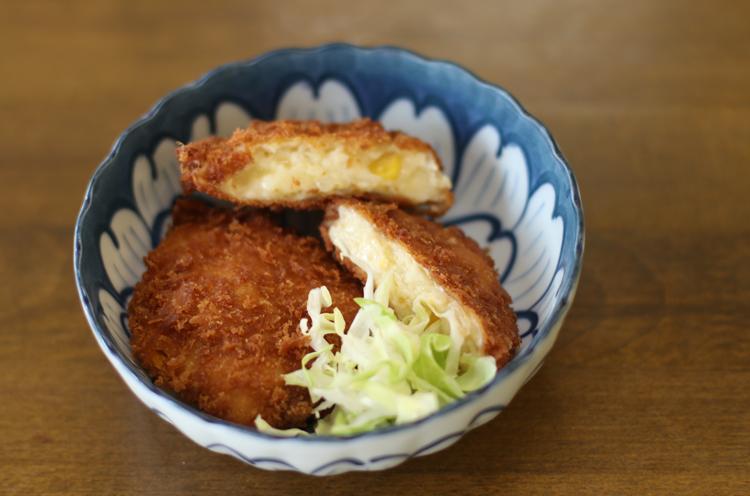 金子さんイチオシのチーズクリームコロッケ
