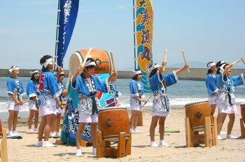 【新発田市】藤塚浜海水浴場の海開きに合わせた安全祈願祭
