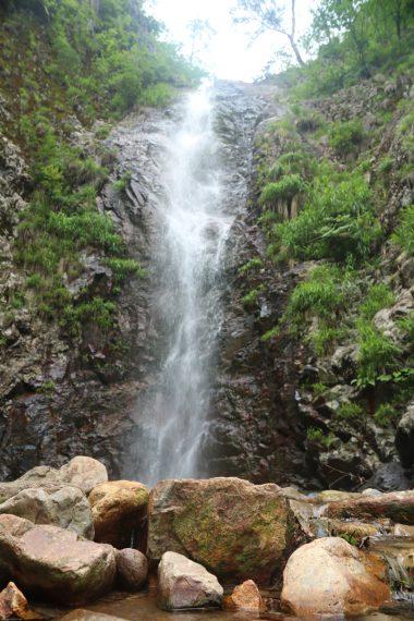 角神不動滝の二の滝