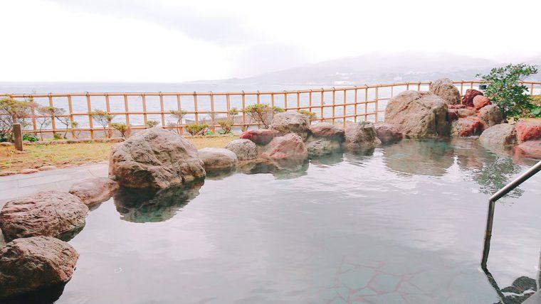 露天風呂からの景色は最高! 佐渡のお宿の(宿泊)レポ! おいしそうな料理も続々