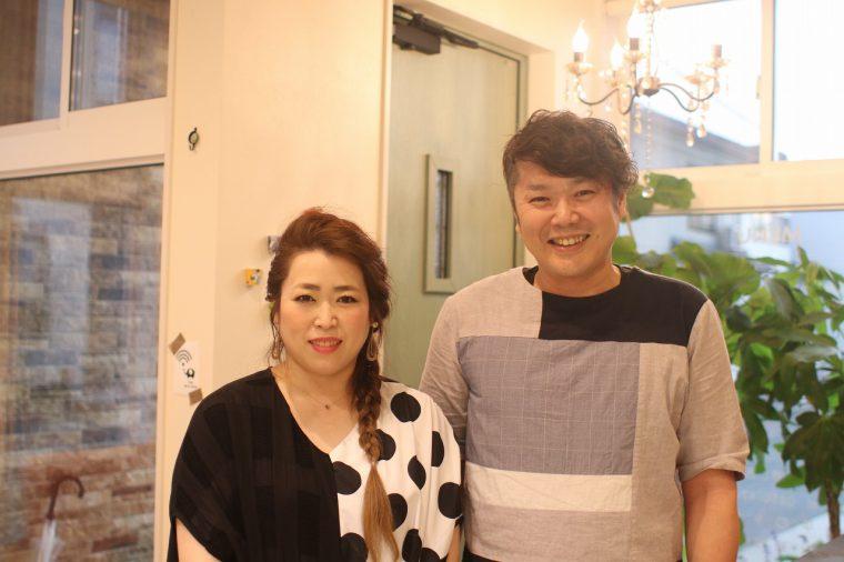 素敵な吉川ご夫婦のハートフルな接客も魅力