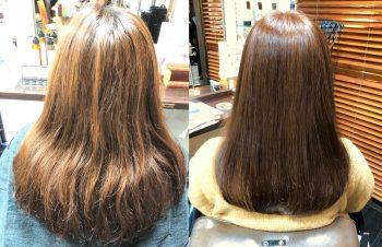 劇的変化!? カットで傷んだヘアを『美髪』へ導く髪質改善メニュー