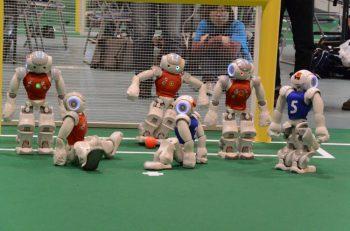 世界の変革するロボットの祭典「ロボカップジャパン」