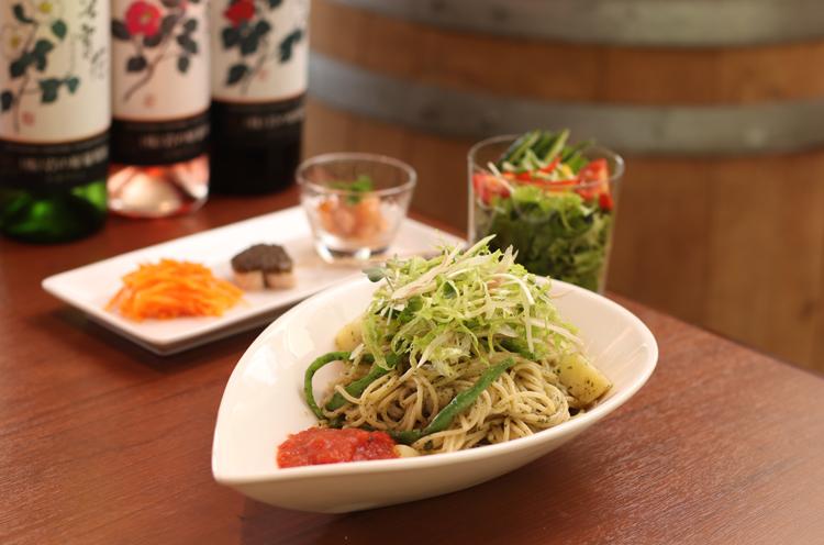 『本日のパスタ』(1,620円)。野菜がたっぷりで健康的